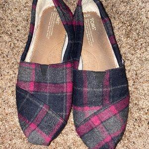 Toms Classic Plaid Wool